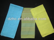 100% cotton kitchen towel,3colors