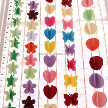 Event Party Supplies Wedding Birthday Party Customized Paper Garland