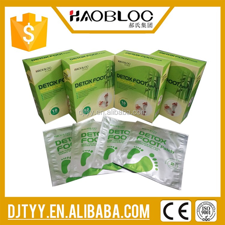 Health Care Product of Detox Foot Patch, Absorb Toxins Released from These Acupuncture Points