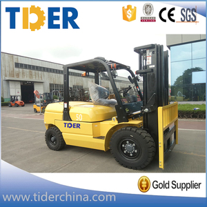 China high quality 5 ton diesel forklift