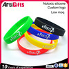 Personalized Silicon Bracelet Manufacturer Wholesale Fashion Cheap Custom Silicone Bracelets