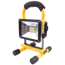 Amazon Best Selling 10w 750 Lumens Portable Flexible Handheld Hid Work Zone Rechargeable Led floodLight
