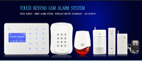 Best Selling DC 12V Home Security Wireless GSM Burglar Alarm System PY-TGSM12