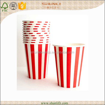 Wholesale paper coffee cups custom printed paper cups