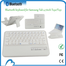 Bluetooth connect wired mini keyboard with touchpad