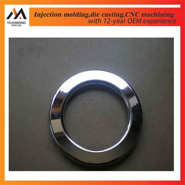 Custom plastic auto plastic parts chrome high quality and precision electroplating