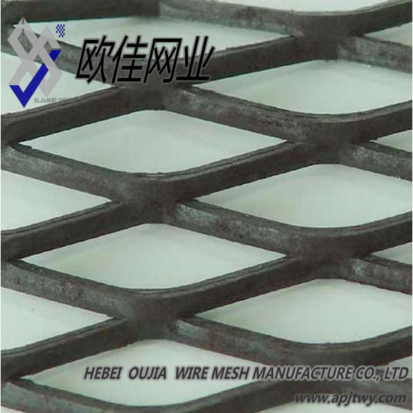 China factory supply best sell Black Steel Expanded Metal Sheet(Flattened Type)
