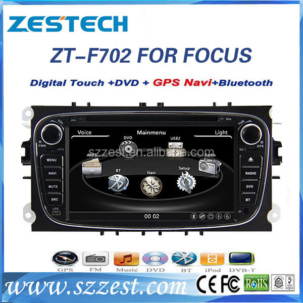 2 din 7 inch car dvd player for ford mondeo focus 2009 2010 2011 lcd screen car radio with radio fm media player