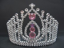 customized crystal full round crown tiara fancy adult crowns and tiaras