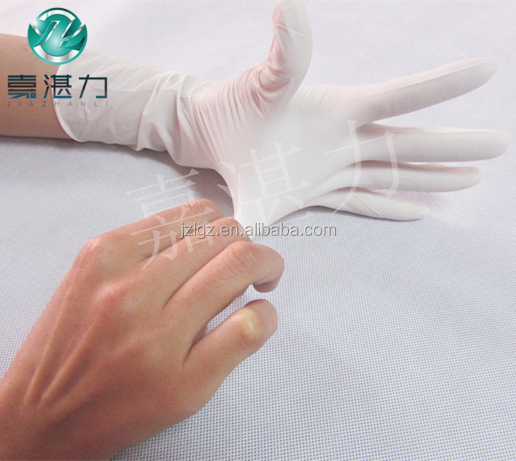 Guangzhou Disposable And Durable Textured Nitrile Gloves For Medical Or Lab