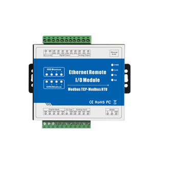 Modbus TCP Ethernet Remote IO Module SCADA, OPC server Support VFD PWM M120T