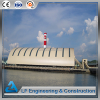 Easy assembly steel space frame coal power plant for sale