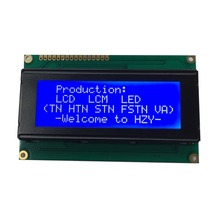 China 2004 standard character type 20x4 lcd display modules