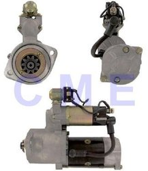 Starter motor used on Caterpillar, Mitsubishi Lift Trucks w/S4E,S4S,S6E,S6S Engines