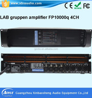 sound system pre amplifier Lab Gruppen Fp 10000 Q stereo mixer amplifier