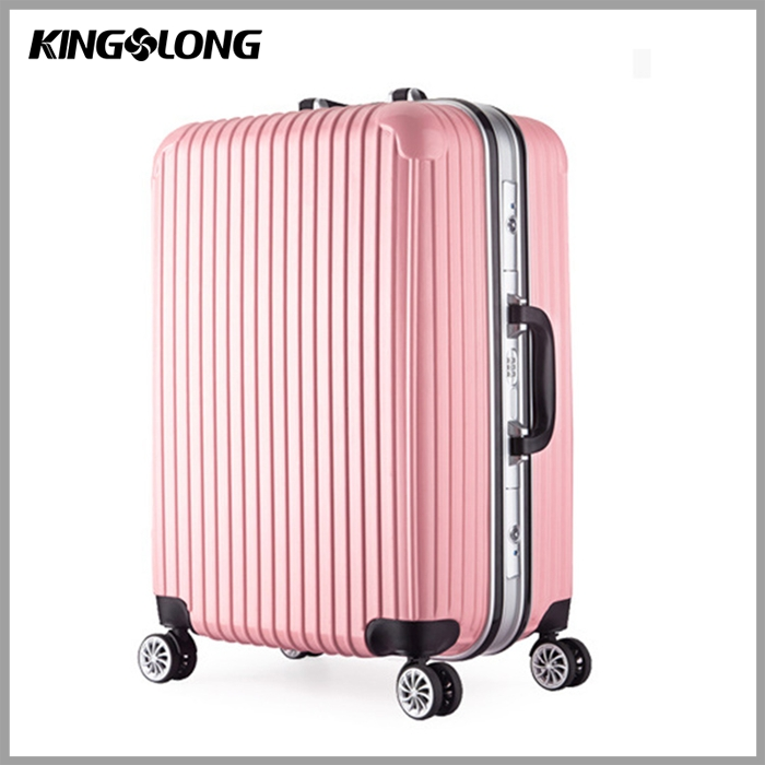 italian unique elegant design convenient PC+ABS urban diplomat president luggage trolley bag