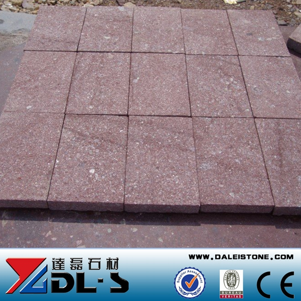 Granite Cheap Paving stone G666 Red Porphyry Floor Tiles Prices