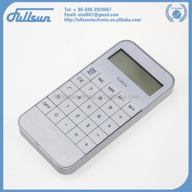 Cheapest cell phone calculator with large keys FS-2152