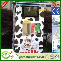 Commercial refrigerated vending machines