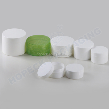 round shape single-wall PP cream jar