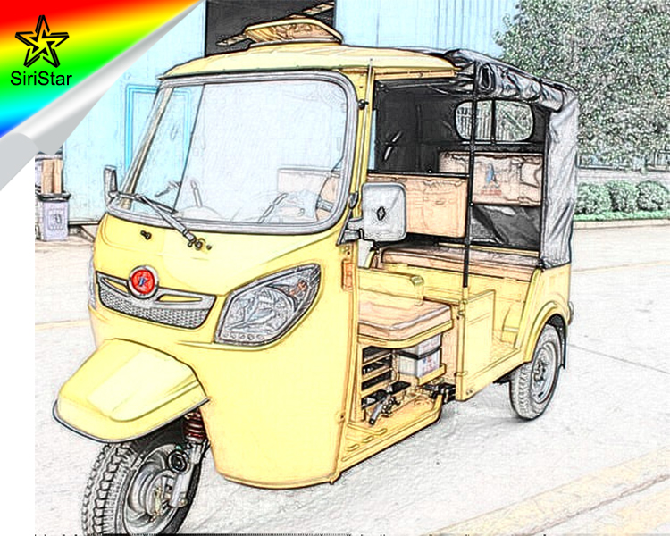 Three Wheeler 255Cc Water Cooled Bajaj Auto Rickshaw Engine From China