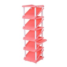 Plastic shoe rack simple designs wholesale