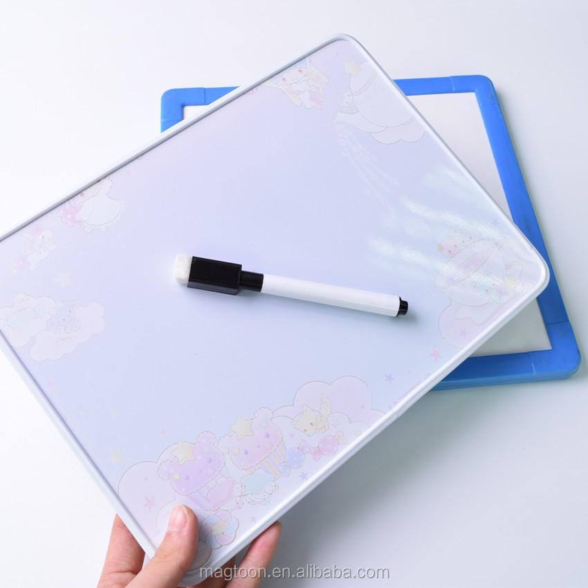 magnetic ceramic whiteboard standard mini size