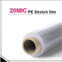 20 micron China industrial plastic wrap-Hand colored stretch wraps
