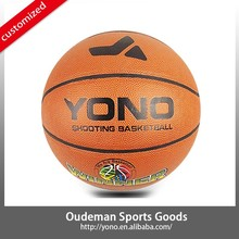 Customized your Own Top YN-001 PVC Laminated Basketball Cheap wholesale sport ball basketball for Training