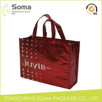 Good quality crazy selling crossing stitching non woven tote bag