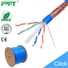 Lan cable SFTP Cat6 cable large wooden cable spools for sale
