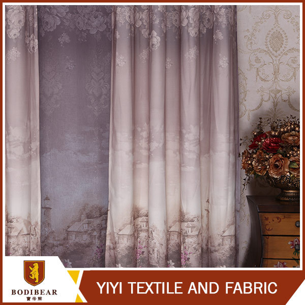 Top selling ODM Fashionable curtain design for hall