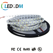 DC 12V/24V 300leds Pure/Netural/Warm White LED Strip 5050 Flexible Light IP65 Silicon Glue