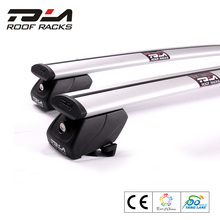 Tola Universal off road Aluminum roof rack cross bar for Volvo XC90 with flush rails