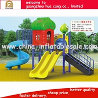 H30-1092 used kids outdoor playground equipment Middle size happy animal theme playground equipment outdoor