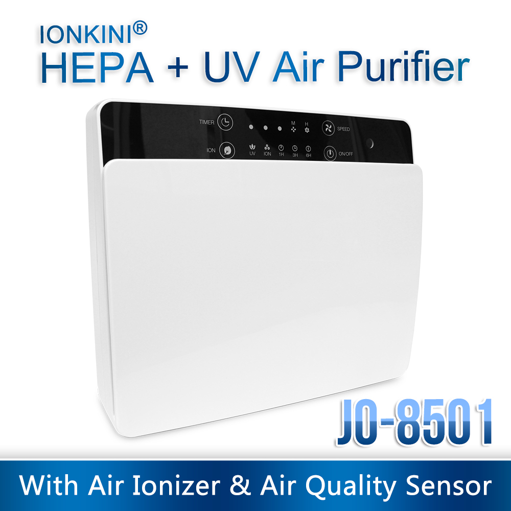 Home and office used portable uv light air purifier