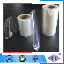 Standard food packaging pvc plastic roll film laminating