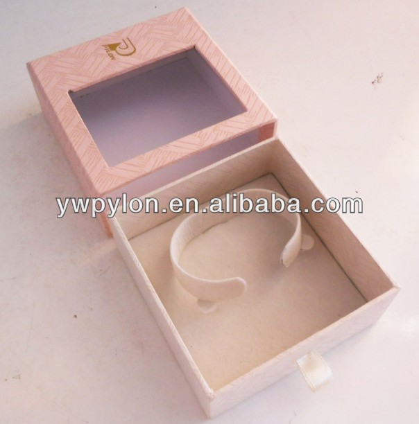 transparent handmade paper jewelry boxes