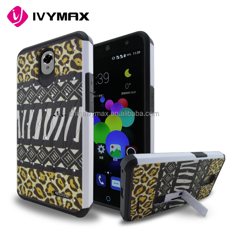 2016 hot new products for ZTE Avid Plus wholesale back cover case.