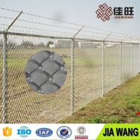 wholesale chain link fence prices/diamond mesh fence wire fencing