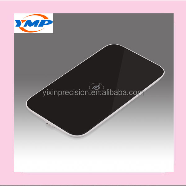Single coil wireless charger for mobile phone and custom design plastic housing wireless charger
