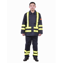 Custom production safety protection personal protection firefighter suit safety clothing