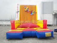 inflatable climbing wall/funny sticky wall hot sale Z5004