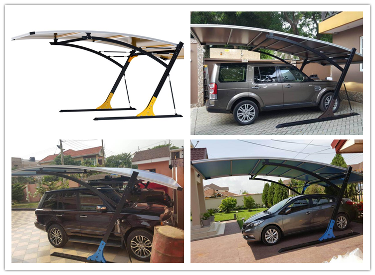 2018 hot new products auto shelter 4wd side awning carport covers with good quality