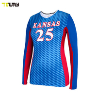professional sublimation volleyball jersey design