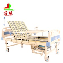 A02-1 Multi-function medical hospital bed manual medical bed hospital furniture