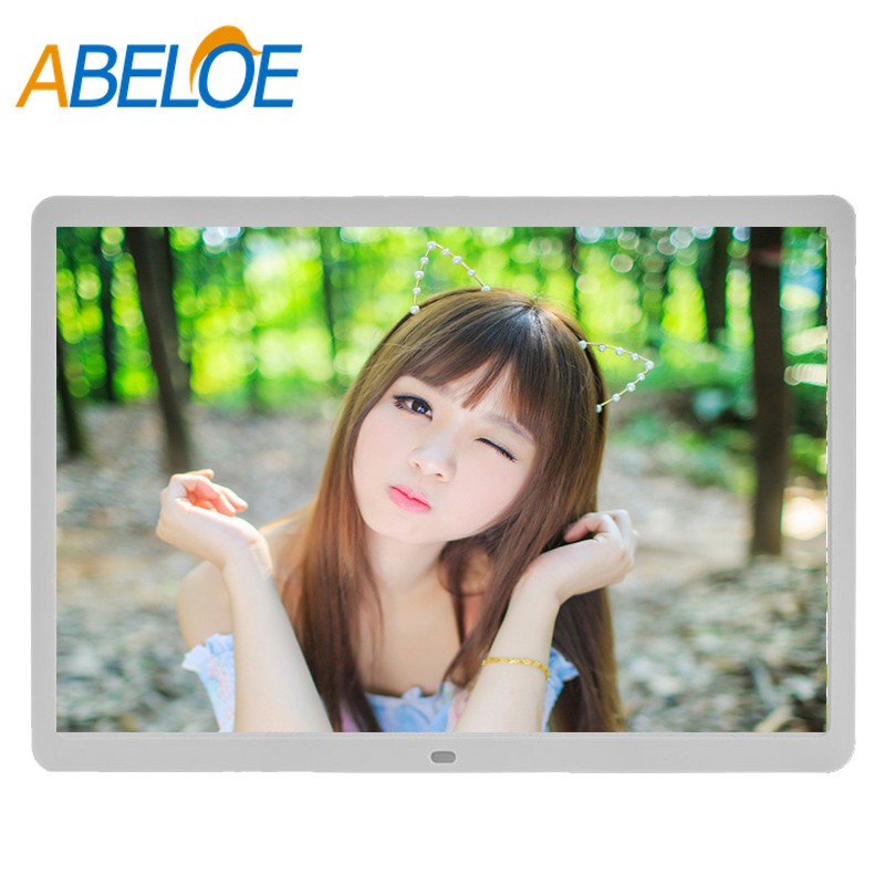 Auto play hd mi digital photo frame 12 inch charger