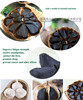 chinese fermented black garlic,2 heads of bag,We are factory Dried vegetables