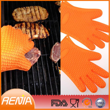 RENJIA finger silicone oven mitt finger pot holder fashionable oven mitt