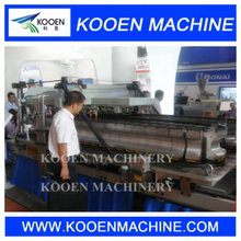 PE PP PPR PVC Plastic Corrugated/ Pipe Extrusion Making Machine / Production Line for sale